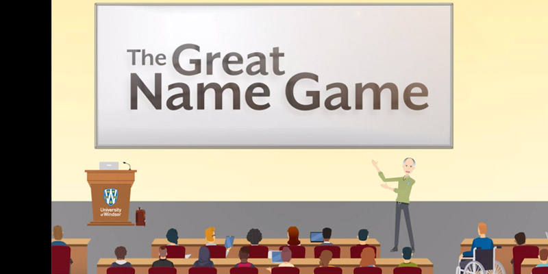 Great Name Game